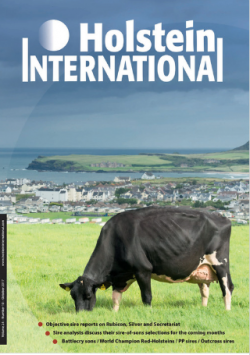 Highlight of 2017 - Priestland 5235 PS James Rose on the front cover of Holstein International